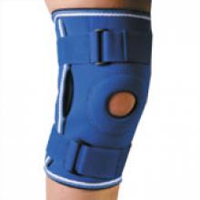 Фиксатор коленного сустава неопреновый, с ребрами жесткости