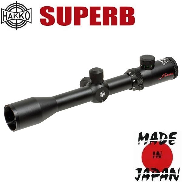 Фото - Hakko (Japan) Прицел оптический Hakko Superb 30 2.5-10x42 (Mil Dot IR R/G)
