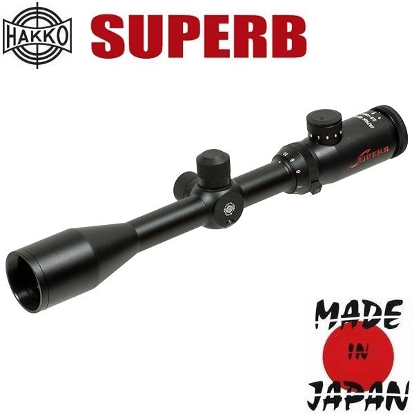 Фото - Hakko (Japan) Прицел оптический Hakko Superb 2.5-10X42 (23EP IR Red)