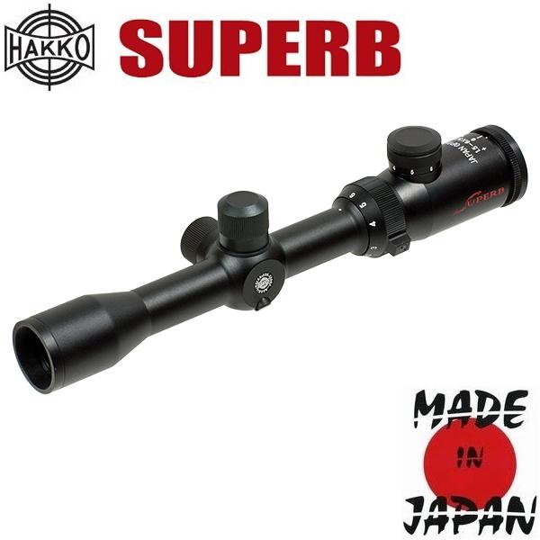 Фото - Hakko (Japan) Прицел оптический Hakko Superb 1.5-6x32 (4A IR Dot Red)