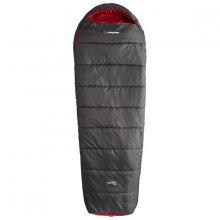 Спальный мешок Caribee Nordic Compact 1000 / +5°C Graphite/Red (Right)