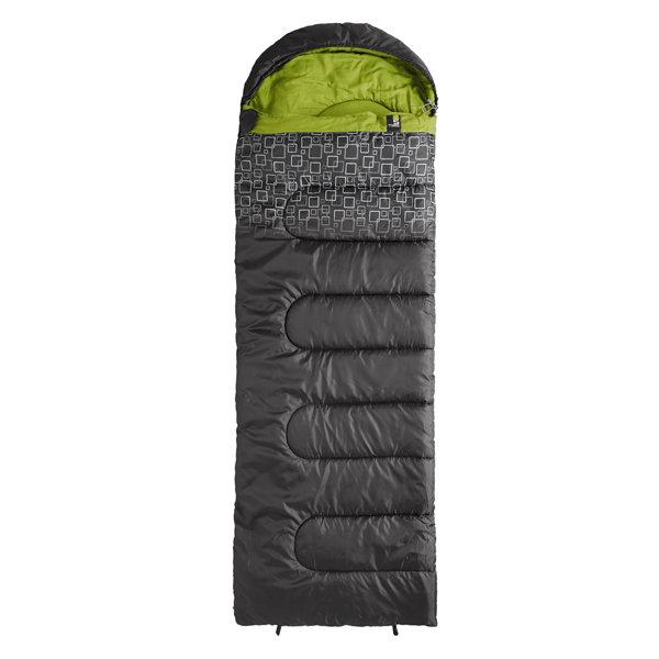 Фото - спальный мешок Caribee (Australia) Спальный мешок Caribee Moonshine / +5°C Charcoal/Green (Right)