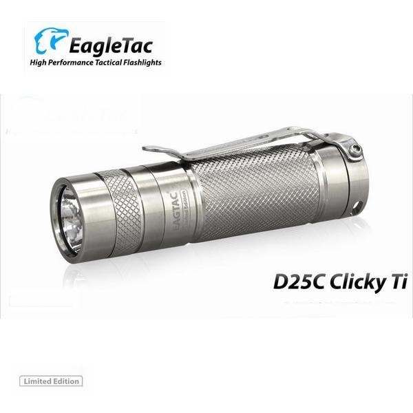 Фото - EagleTac (USA) Фонарь Eagletac D25C XM-L2 U2 (453 Lm) Titanium Limited Edition