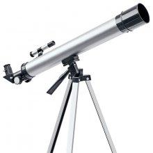Телескоп Bresser Junior 50/600 silver