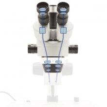 Фото - микроскоп Optika (Italy) Микроскоп Optika SZM-2 7x-45x Trino Stereo Zoom