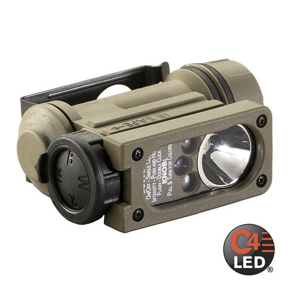 Фото - Streamlight (USA) Фонарь Streamlight Sidewinder Compact II Military