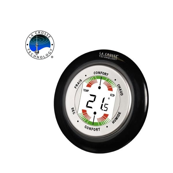 Фото - La Crosse (France) Термометр-гигрометр La Crosse WT138-B-BLI