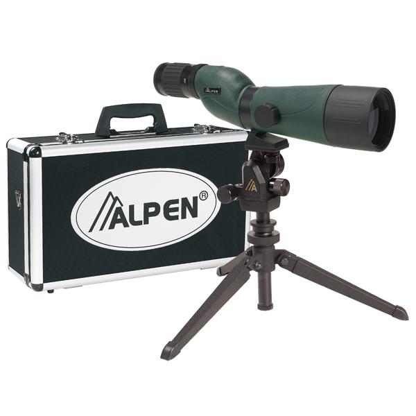 Фото - Alpen optics (USA) Подзорная труба Alpen 20-60x60 KIT Waterproof