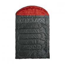 Спальный мешок Caribee Moonshine Double / 0°C Charcoal/Red