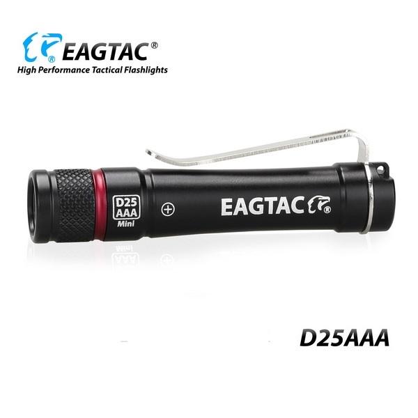 Фото - Фонарь Eagletac D25AAA Edison UV (395nm) Red