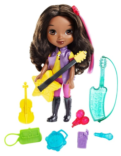 Фото - Кукла Fisher-Price Эмма, Дора и друзья Nickelodeon Dora and Friends Emma Loves Music Toy