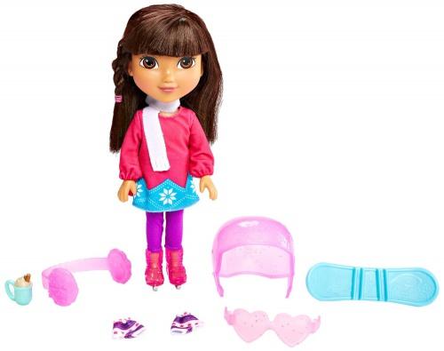 Фото - Кукла Fisher-Price Дора и друзья Nickelodeon Dora and Friends Winter Theme Dora Figure