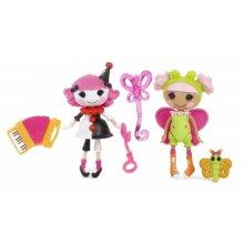 2 мини-куклы и тематические аксессуары Fun House Charlotte and Blossom, набор