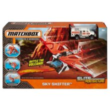 Фото - Машинка Matchbox Самолет спасатель Elite Rescue Glider Vehicle
