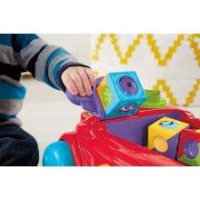 Фото - Развивающая игрушка Fisher-Price  Roller Blocks Rockin Wagon