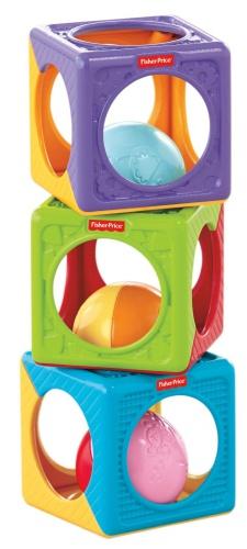 Фото - Развивающая игрушка Fisher-Price Easy Stack n Sounds Blocks