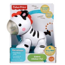 Фото - Развивающая игрушка Fisher-Price Zebra Clicker Pal