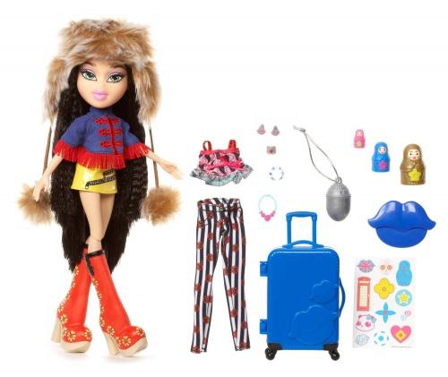 Фото - Кукла Bratz  Study Abroad Doll- Jade to Russia