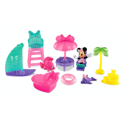 Фото - Фигурка Fisher-Price Минни на пляже Minnie Mouse Minnie's Beach Pack