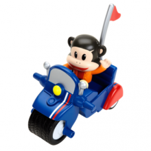 Фигурка Джулиуса на мотоцикле Julius Jr. Pullback Racer - Julius Invento-Cycle