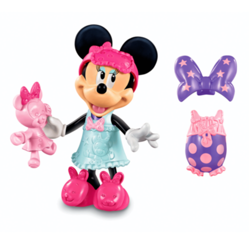 Фото - Фигурка Fisher-Price Disneys Sleep Over Bowtique Minnie Mouse