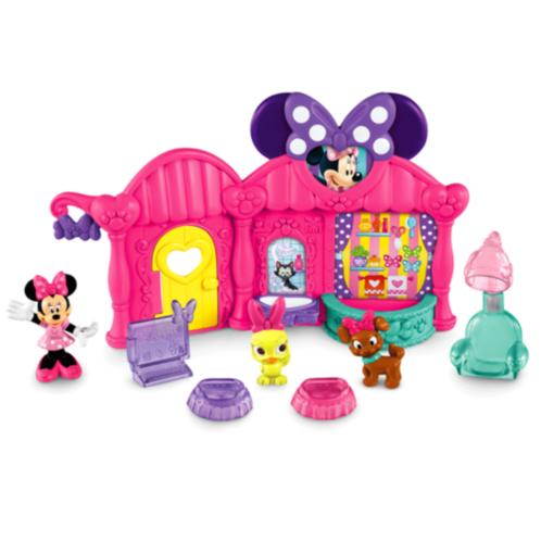 Фото - Фигурка Fisher-Price Минни и ее салон для животных Disneys Minnie Pet Salon