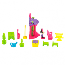 Фото - Фигурка Fisher-Price Минни на пикнике Minnie Magical Bow Sweet Home Garden Picnic