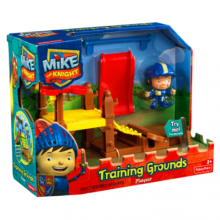 Рыцарь Майк на тренировочной площадке Mike The Knight Training Grounds Playset
