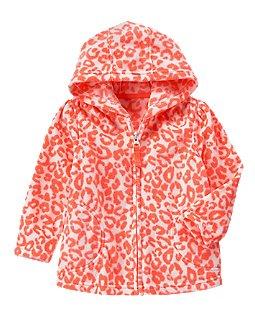 Фото - Crazy 8 Толстовка для девочки Microfleece Hoodie красная
