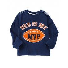 Реглан для мальчика Dad Is My MVP Football