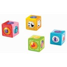 Фото - Развивающая игрушка Fisher-Price Roller Blocks, Vehicles and Shapes