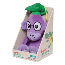 Фото - Мягкая игрушка Baby Genius Обезьяна Oboe Soft Stuffed Plush Toy by Manhattan Toy