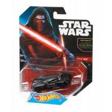 Фото - Машинка Hot Wheels Коллекционная моделька Star Wars: The Force Awakens Kylo Ren Character Car