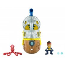 Фото - Фигурка Fisher-Price Пират Джейк на его подводной лодке Баки Jake and The Never Land Pirates - Submarine Buckys Never Sea Adventure