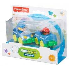 Фото - Развивающая игрушка Fisher-Price Поезд и 2 фигурки Маленькие люди