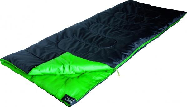 Фото - спальный мешок Спальный мешок High Peak Patrol / +7°C (Right) Black/green