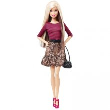 Кукла Барби Fashionistas Doll Animal Print Fashion - Original