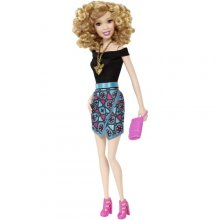Fashionistas Doll Geometric Print Skirt - Original