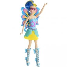 Кукла Барби Princess Power Butterfly Doll Blue