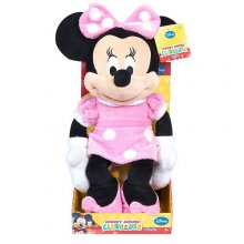Минни Маус Disney Classic Medium Minnie Mouse Plush - Light Pink and Polka Dots