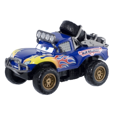 Фото - Машинка Disney Машинка Disney/Pixar cars Radiator Springs 500 1/2 wild racer blue grit pullback vehicle