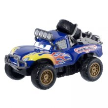 Машинка Disney/Pixar cars Radiator Springs 500 1/2 wild racer blue grit pullback vehicle