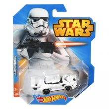 Фото - Машинка Hot Wheels Коллекционная моделька Star Wars character car, Stormtrooper