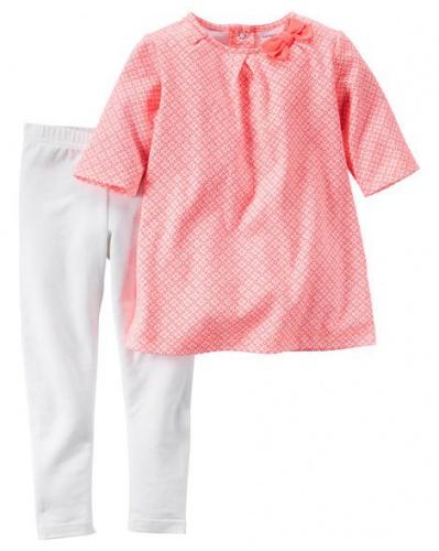 Фото - Carter's Комплект одежды-неоновый топ и леггинсы