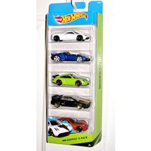5 Car Gift Pack HW Exotics