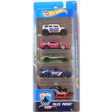 5 Car Gift Pack POLICE PURSUIT