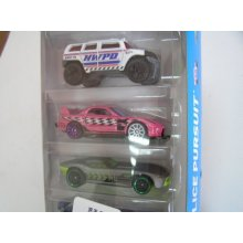 Фото - Машинка Hot Wheels 5 Car Gift Pack POLICE PURSUIT