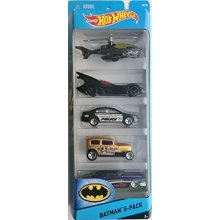 5 Car Gift Pack Batmen