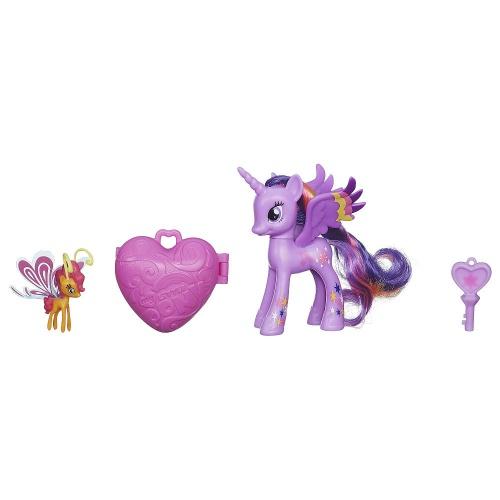 Фото - Фигурка Hasbro Пони - принцесса Твайлайт Спаркл и Сансет Бризи с амулетом My Little Pony Twilight Sparkle and Sunset Breezie Figures