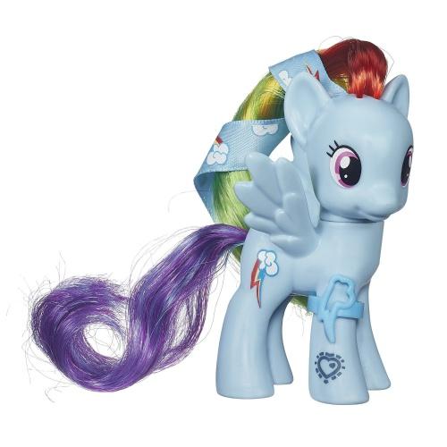 Фото - Фигурка Hasbro My Little Pony (QR-код) Cutie Mark Magic Rainbow Dash Figure